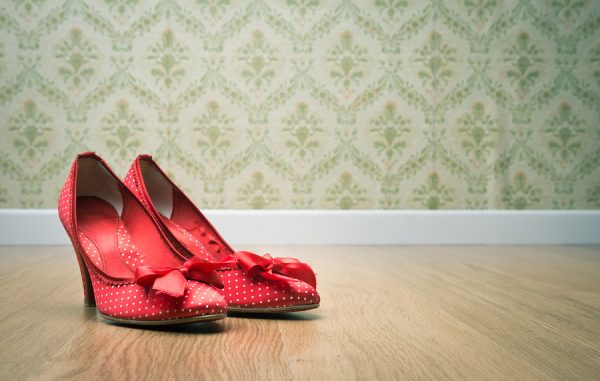 Vintage Female Shoes